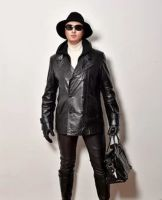 Womens Leather Jacket - 56536 offers